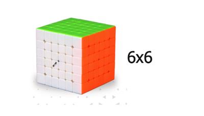 6x6 cubes